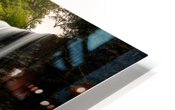 Capturing the Cascade HD Sublimation Metal print