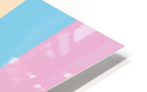 Pastel Palette HD Sublimation Metal print