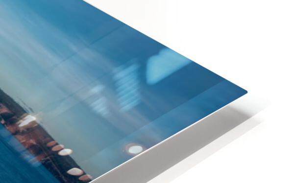 Lumiere sur le Rocher Perce Impression de sublimation métal HD