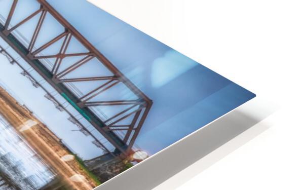 Double pont Impression de sublimation métal HD
