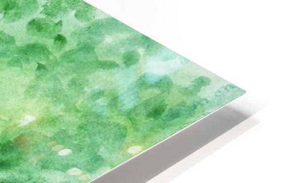 Poppy Field HD Sublimation Metal print