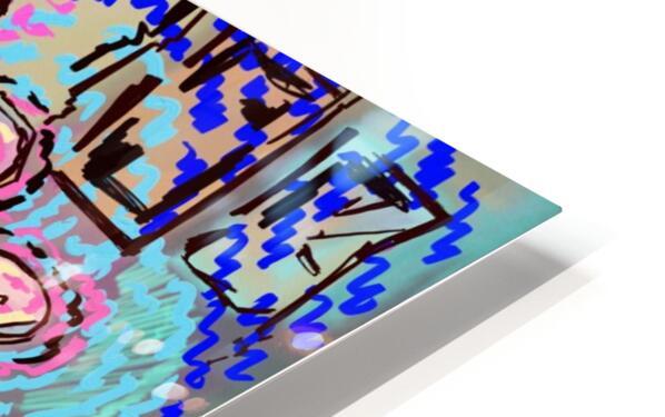 Rhythm Flow HD Sublimation Metal print