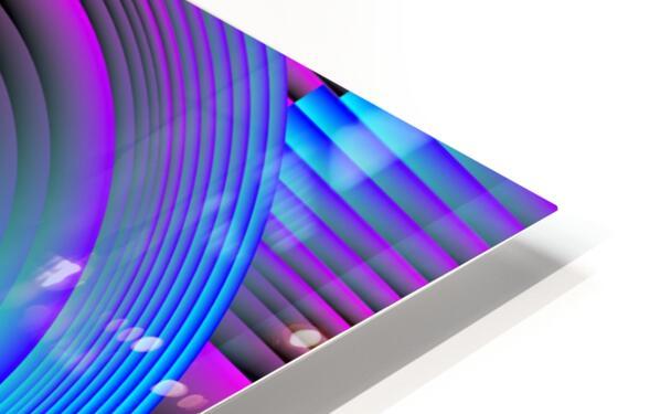 A.P.Polo - Das Glas ist halb voll HD Sublimation Metal print