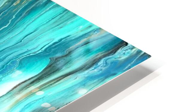 Ocean Ripple HD Sublimation Metal print