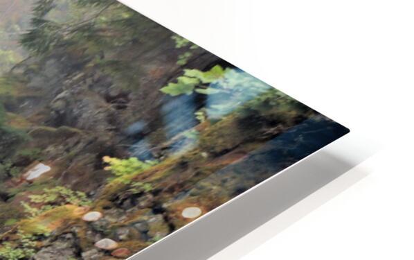 Rogue River Canyon HD Sublimation Metal print