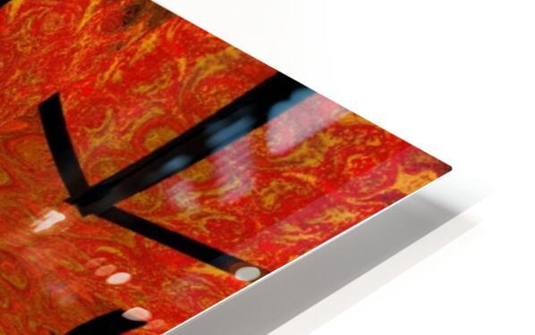 Lotus In Flames 1 HD Sublimation Metal print