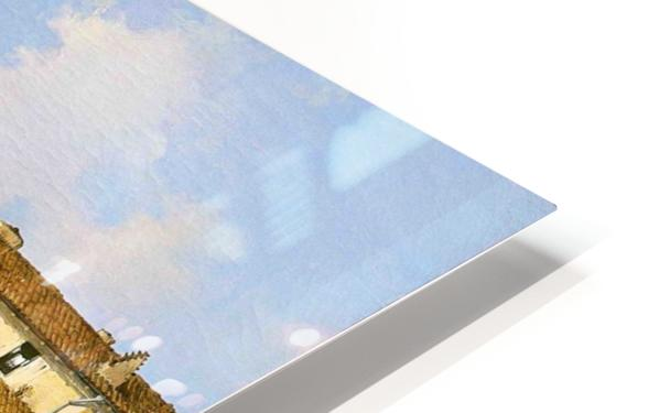 Il Naviglio dal ponte di San Marco HD Sublimation Metal print