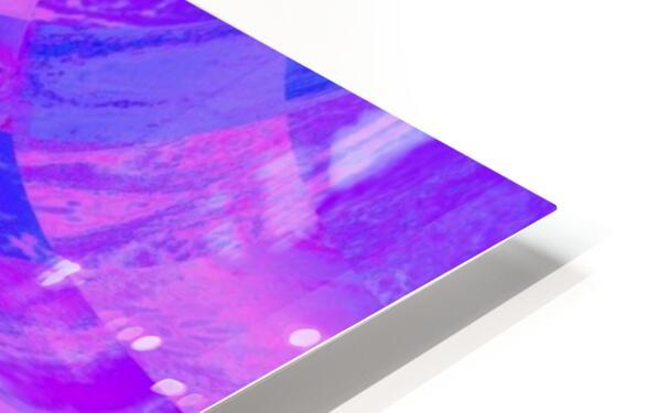 Lotus In Mist HD Sublimation Metal print
