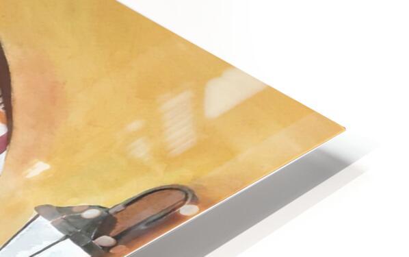 Boulangerie HD Sublimation Metal print