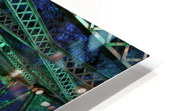 Look out below - You are above it HD Sublimation Metal print