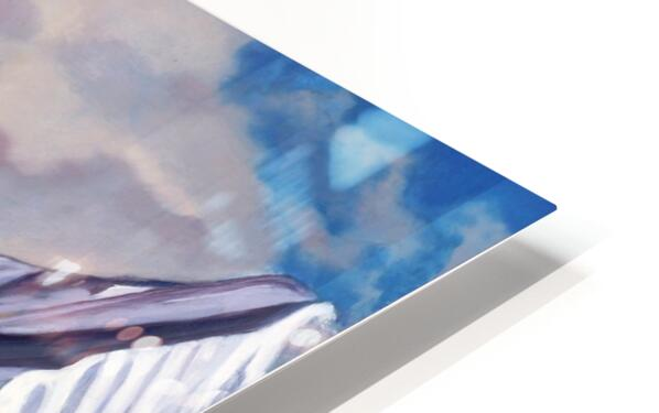 Glacier 3 HD Sublimation Metal print