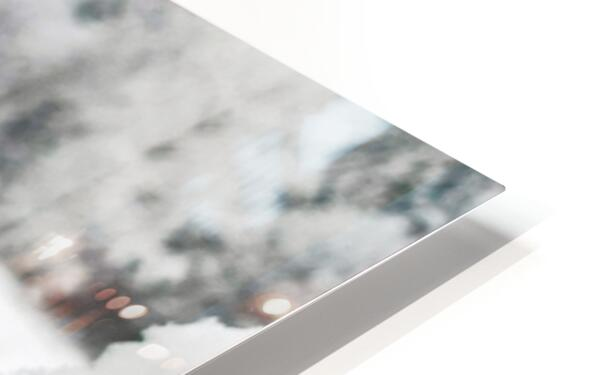 One for the Ring-- Winter HD Sublimation Metal print