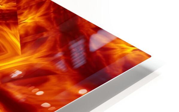 Fire Flowers 56 HD Sublimation Metal print