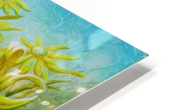 Splash of summer HD Sublimation Metal print