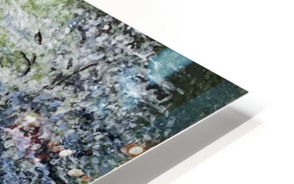 Spring in the Park HD Sublimation Metal print