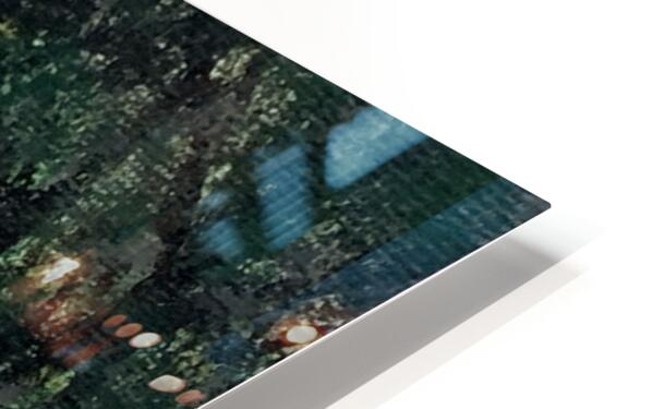 Path in the Woods HD Sublimation Metal print