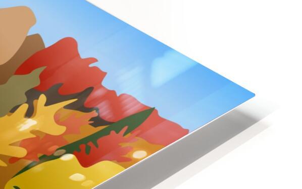 Crystal Lake HD Sublimation Metal print