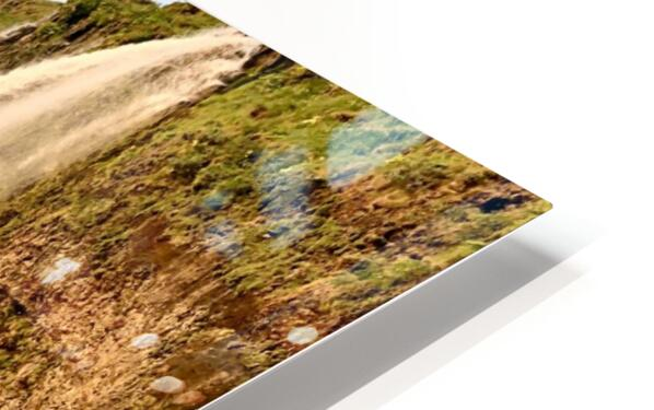 Seljalandsfoss HD Sublimation Metal print