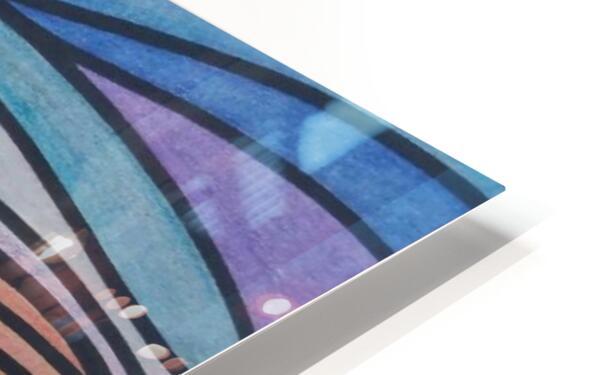 TealTide HD Sublimation Metal print