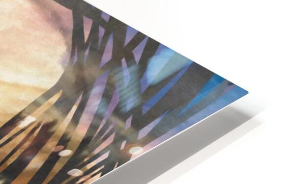 GOLDEN SUNRISE HD Sublimation Metal print