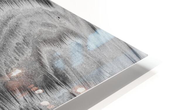 Sandy Waves HD Sublimation Metal print