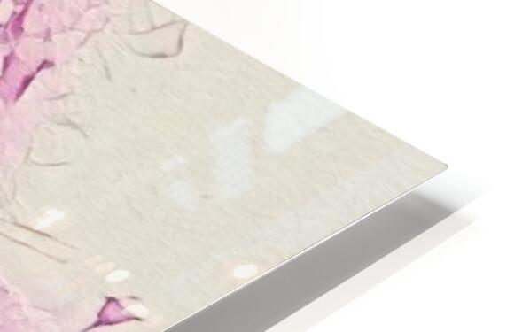 Backyardinsnow p HD Sublimation Metal print