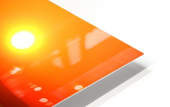 Honey Lake Sunrise HD Sublimation Metal print