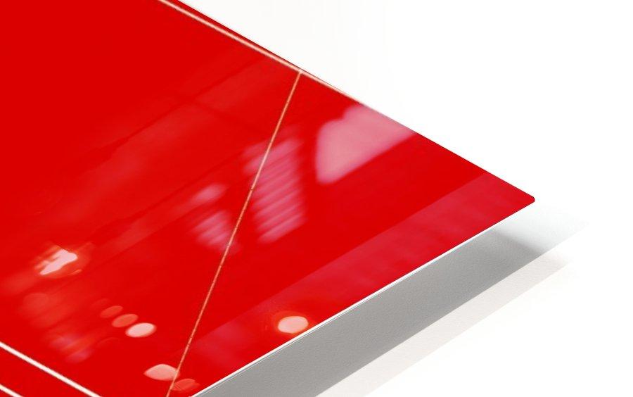 COTE SAINT LUC RED HD Sublimation Metal print