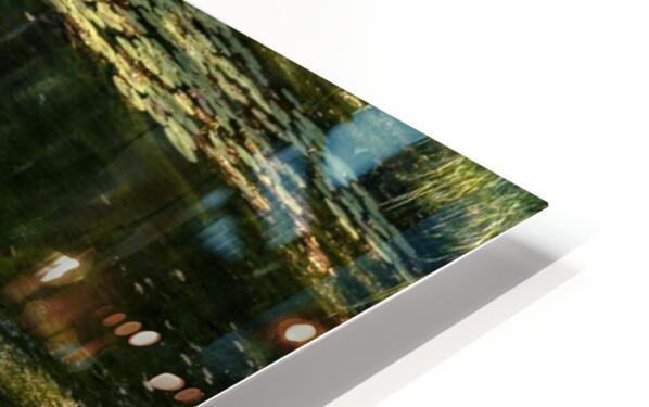 Monet style 3 HD Sublimation Metal print