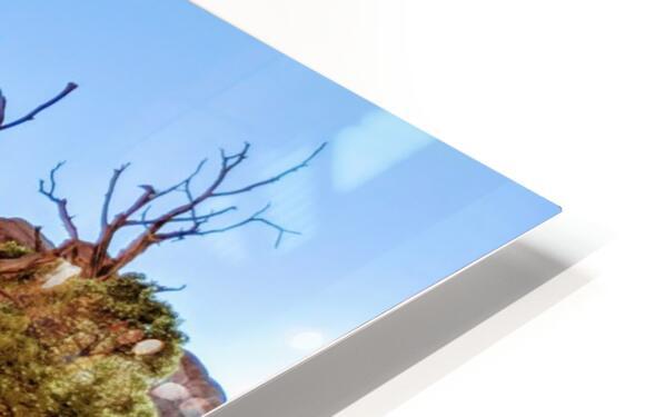 Landscape Arch I HD Sublimation Metal print