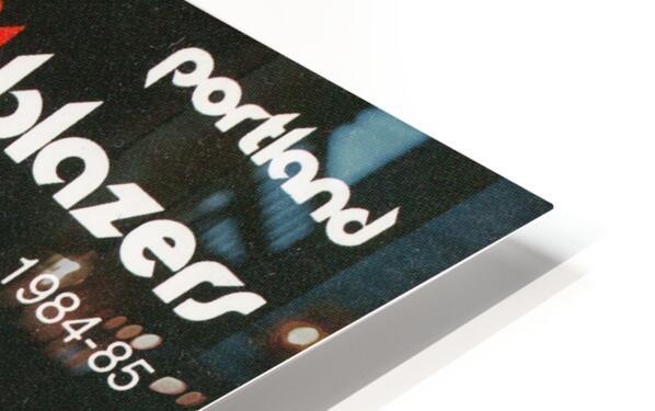 1984 Portland Trailblazers HD Sublimation Metal print