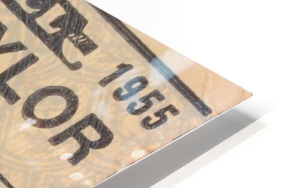 1955 Rice vs. Baylor HD Sublimation Metal print