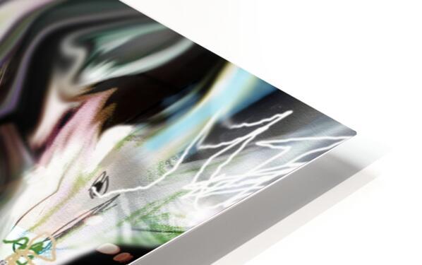 ME NAGE HD Sublimation Metal print
