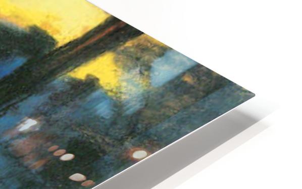 Landscape by Lesser Ury HD Sublimation Metal print