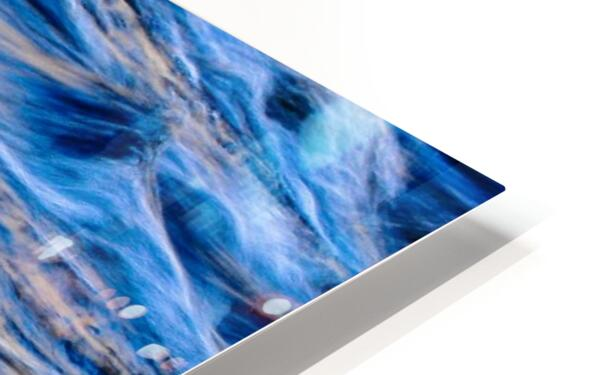 Flowing reflections 5 HD Sublimation Metal print