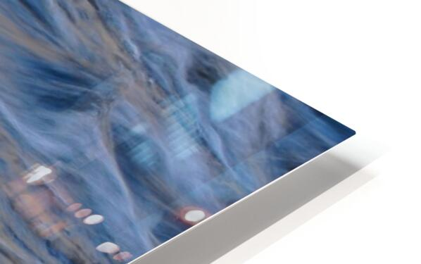 Flowing reflections 3 HD Sublimation Metal print