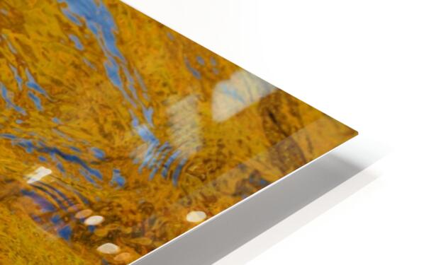 Flowing reflections 2 HD Sublimation Metal print