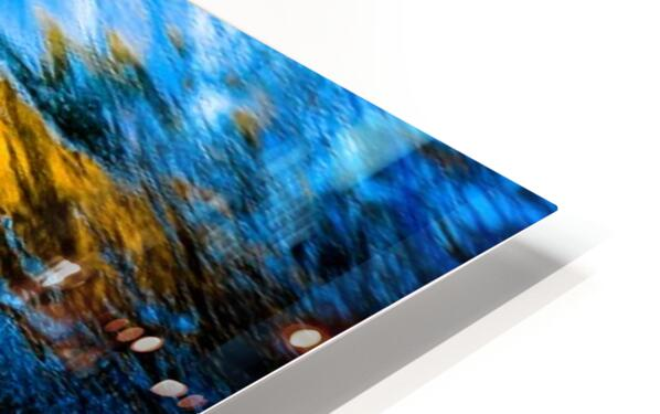 Flowing reflections 1 HD Sublimation Metal print
