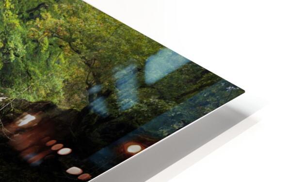 Autumn at Sgwd Gwladus HD Sublimation Metal print