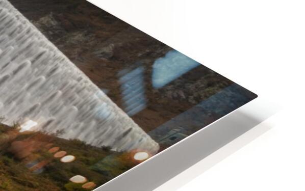 The Elan Valley dam HD Sublimation Metal print