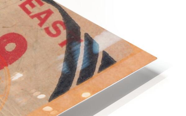 1939 North Carolina vs. Duke HD Sublimation Metal print