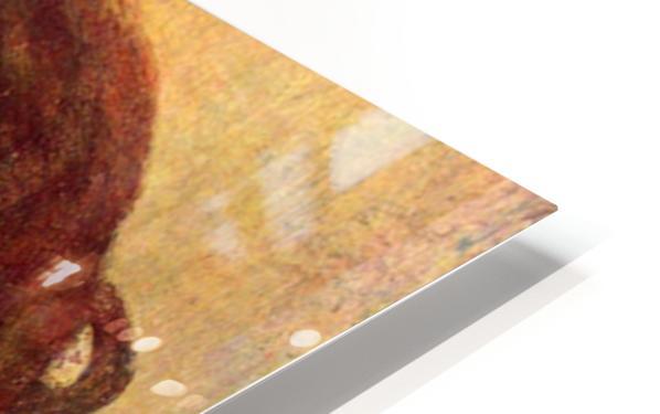 Portrait of Mademoiselle Dobigny by Degas HD Sublimation Metal print