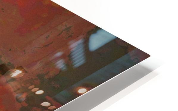 Summer cherry tree HD Sublimation Metal print