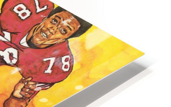 1975 Florida State Football Art HD Sublimation Metal print