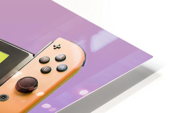 Nintendo Switch Wario HD Sublimation Metal print