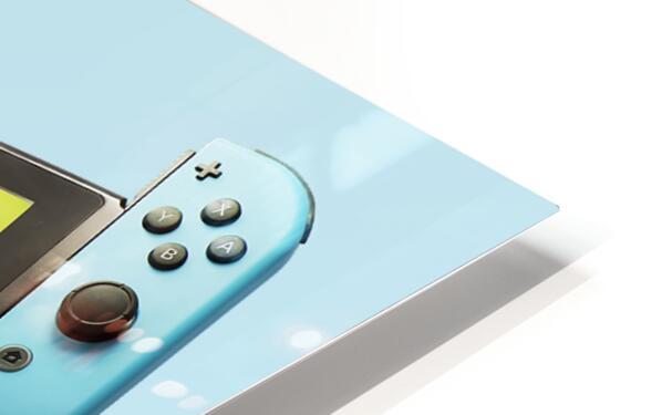 Nintendo Switch Blue HD Sublimation Metal print