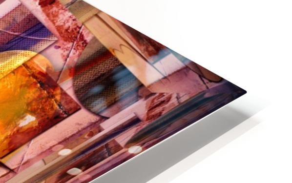 Apple and Pear HD Sublimation Metal print