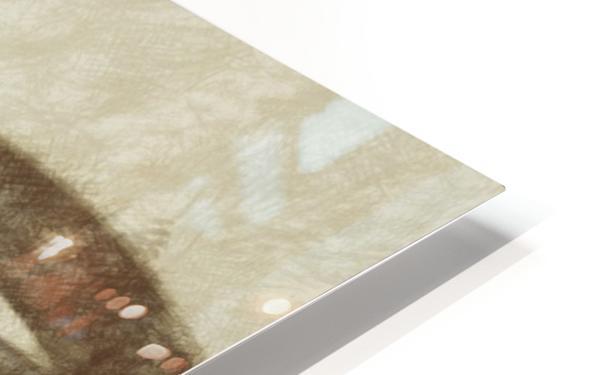 Island HD Sublimation Metal print