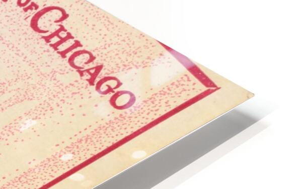 1927 Chicago vs. Illinois  HD Sublimation Metal print