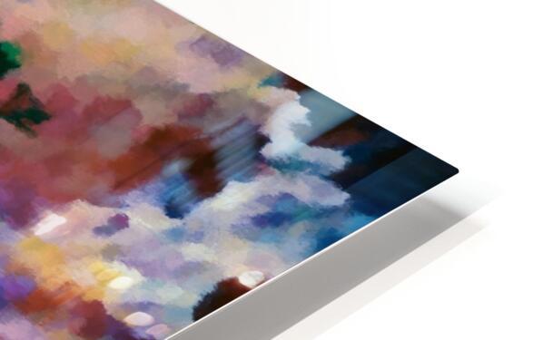 Sprigtime HD Sublimation Metal print